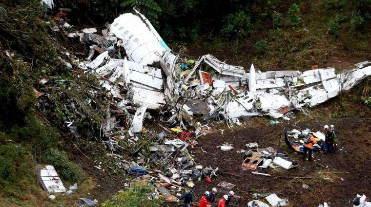 FOTO: 71 muertos dejó la tragedia del chapecoense.