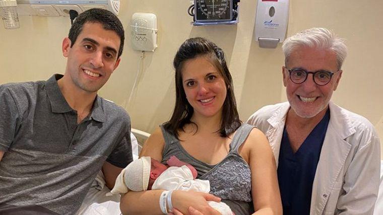 AUDIO: Nació el primer bebé