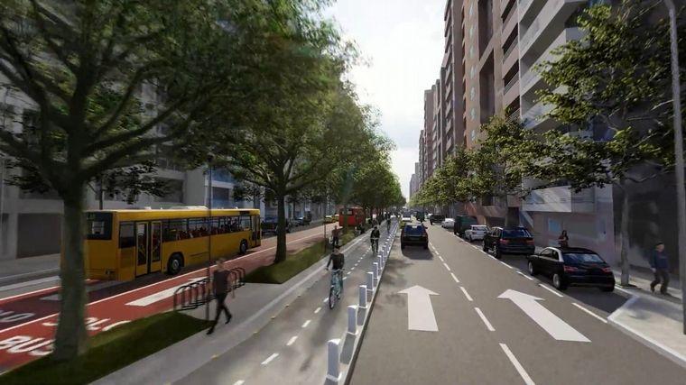FOTO: Así lucirá la nueva avenida Maipú.