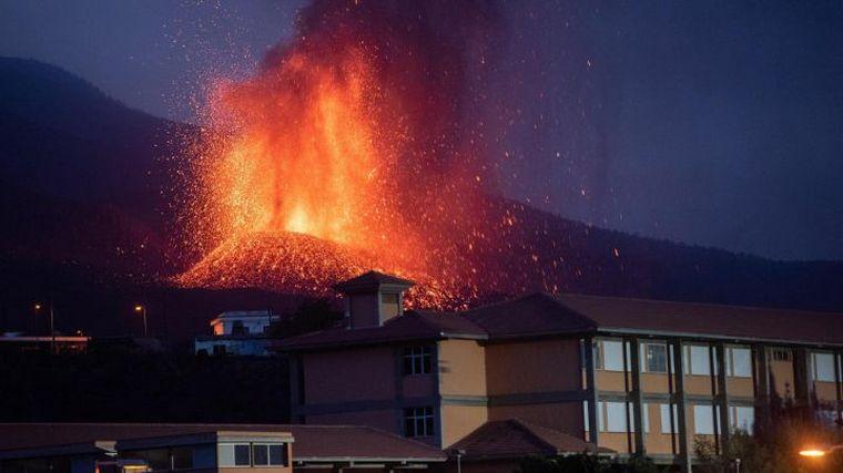 AUDIO: El volcán Cumbre Vieja entró