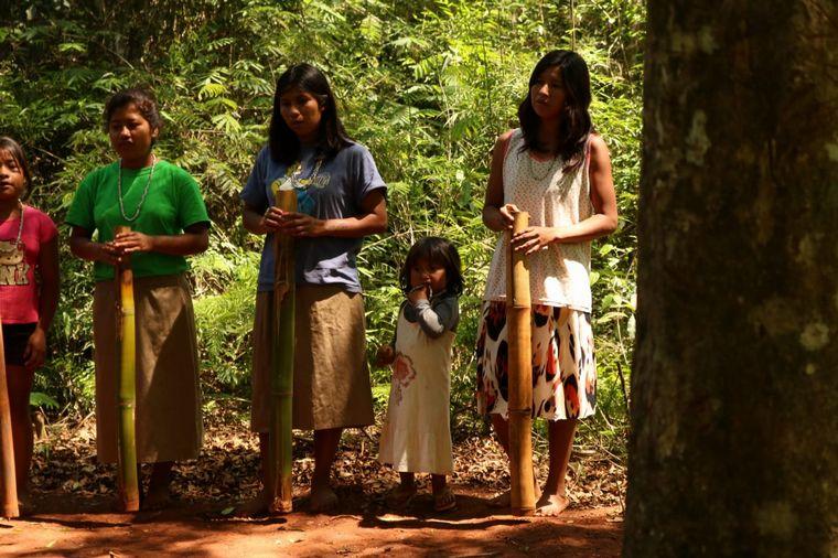 FOTO: Conocemos desde adentro la cultura de una comunidad guaraní en Misiones