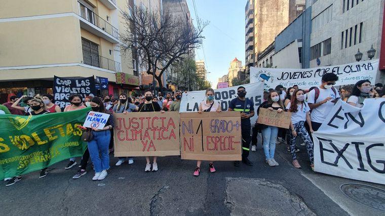 AUDIO: La marcha por el cambio climático comenzó en Córdoba