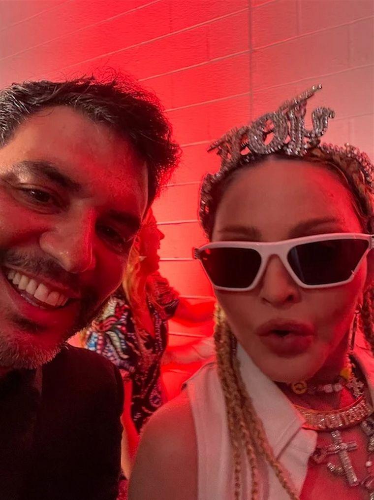 FOTO: Madonna reveló sus ganas de venir a Argentina y bailar tango