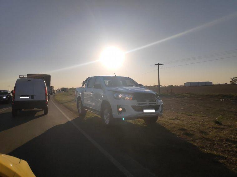 FOTO: Accidente fatal en ruta provincial 13 a la altura de Sacanta