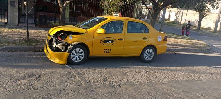 FOTO: Accidentes de tránsito en la ciudad de Córdoba este sábado.