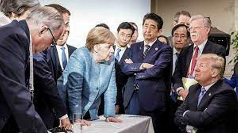 FOTO: Merkel estuvco 16 años en el poder.
