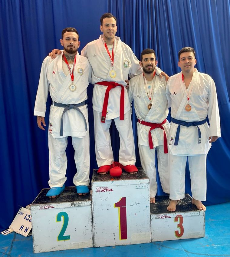 FOTO: Se hizo en Córdoba el 54° Torneo Argentino de Karate.
