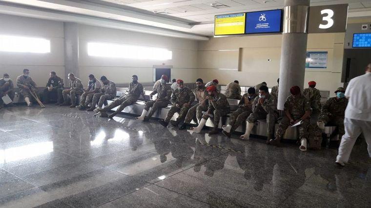 AUDIO: Soldados resultaron lesionados al practicar paracaidismo