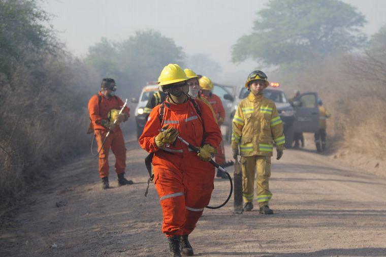 FOTO: Incendio en el norte cordobés