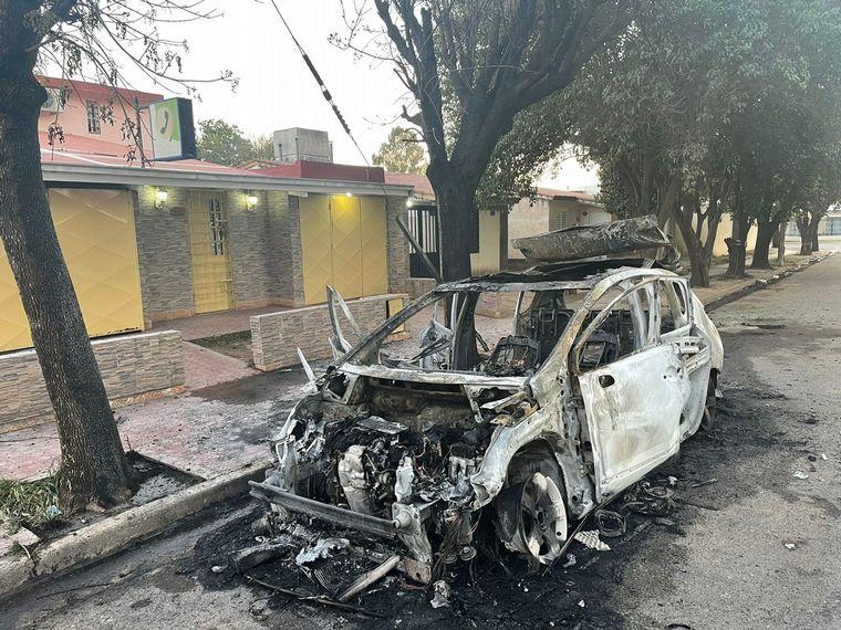 FOTO: Incendio en barrio Lamadrid
