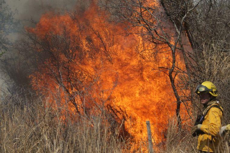 VIDEO: Incendios en Córdoba