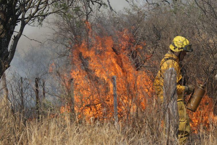FOTO: Incendios en Córdoba