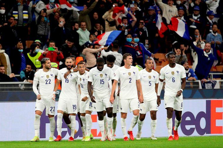 FOTO: Con goles de Benzema y Mbappé, Francia se consagró campeón (Foto: AP)