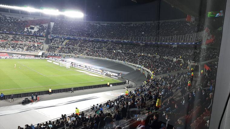 FOTO: Los hinchas argentinos colmaron las tribunas del