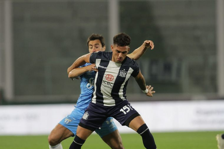 FOTO: Diego Valoyes, en Talleres-Atlético Tucumán