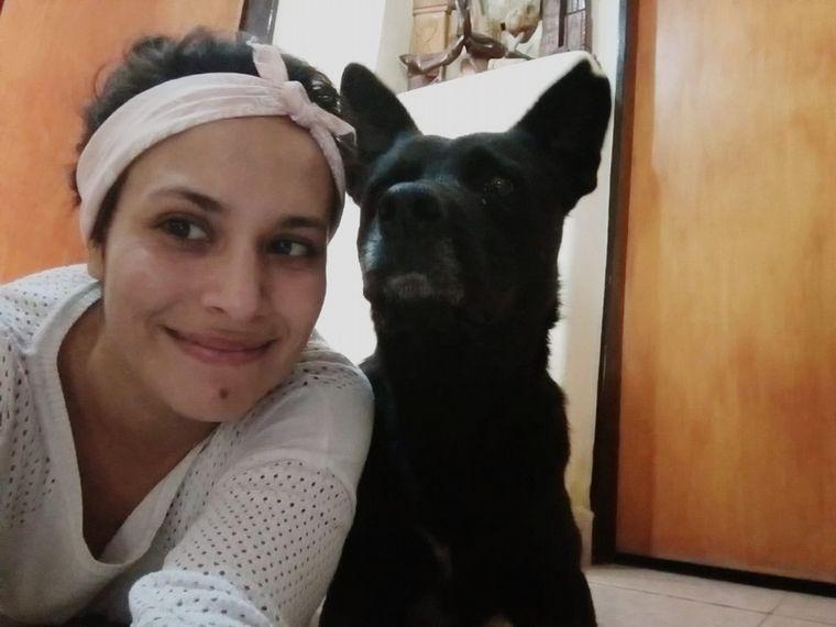 AUDIO: Una joven desmintió haber abandonado a su perro en los incendios de Córdoba