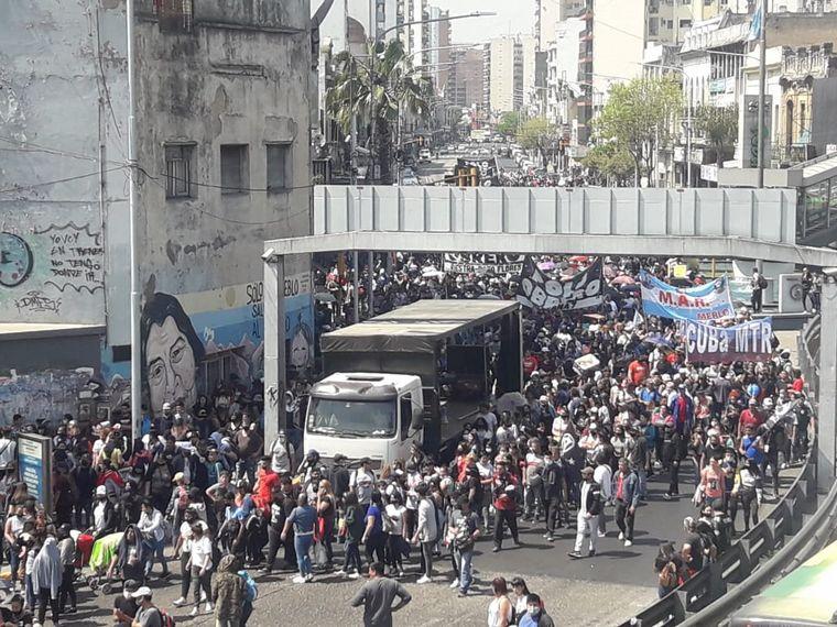 AUDIO: Cortes en Buenos Aires en reclamo de trabajo genuino