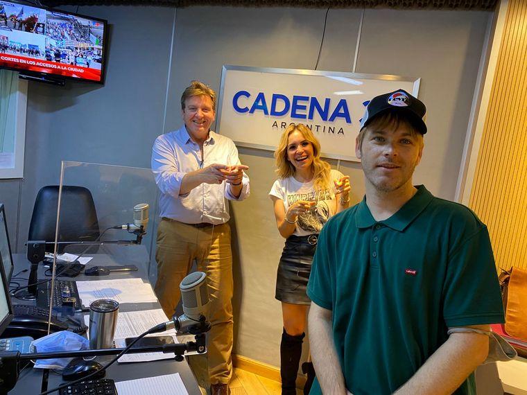 AUDIO: Benjamín Amadeo presentó