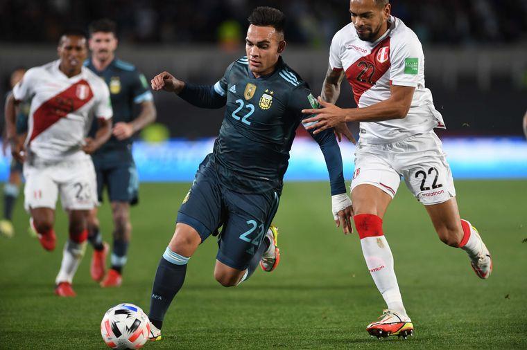 AUDIO: 1º Gol de Argentina (Lautaro Martínez)