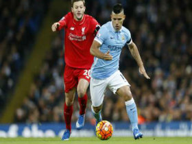 Sergio Agüero Amazing Gol - Manchester City vs Liverpool