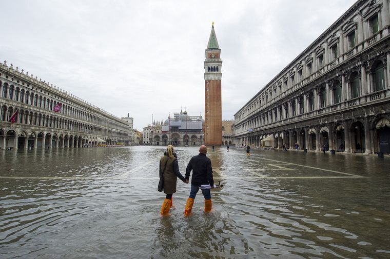 Los daños son irreparables, dijo un argentino en Venecia - Cadena 3